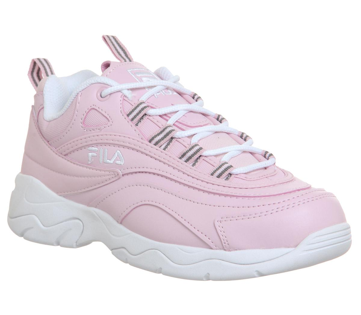 Fila Fila Ray Trainers Chalk Pink White