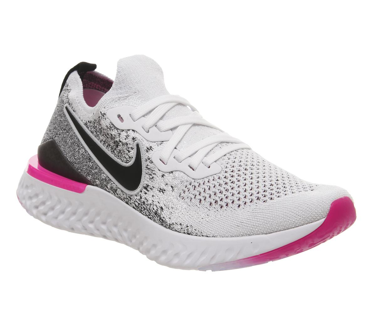 Nike Epic React Flyknit Trainers White