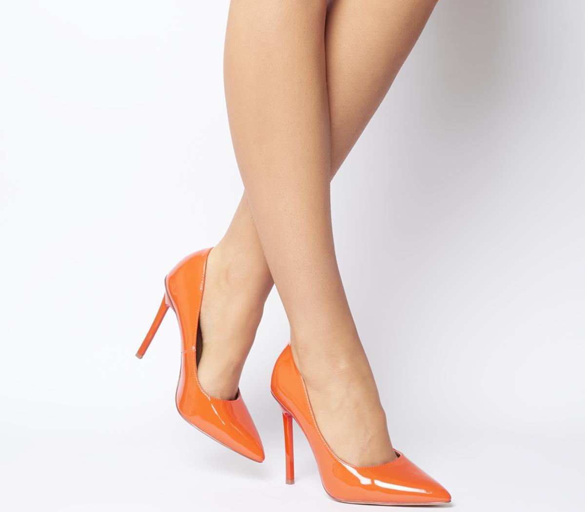 Office Hayden Court Shoes Orange - High