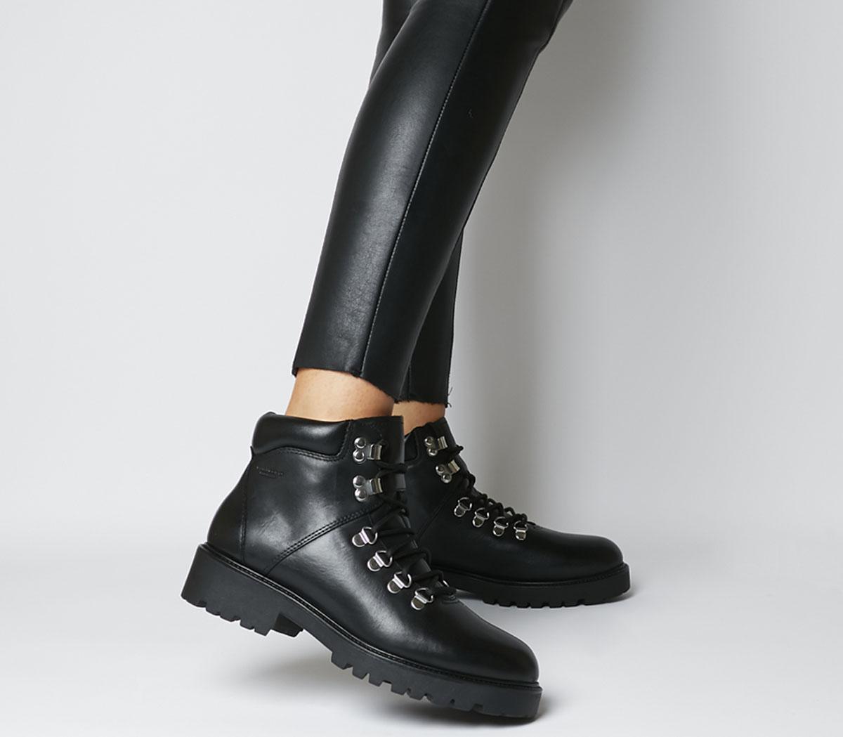 Vagabond Kenova Hiker Boots Black