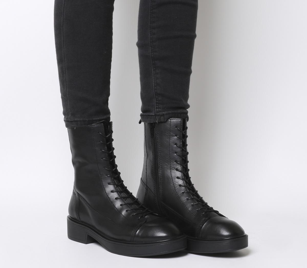 Vagabond Diane High Lace Boots Black