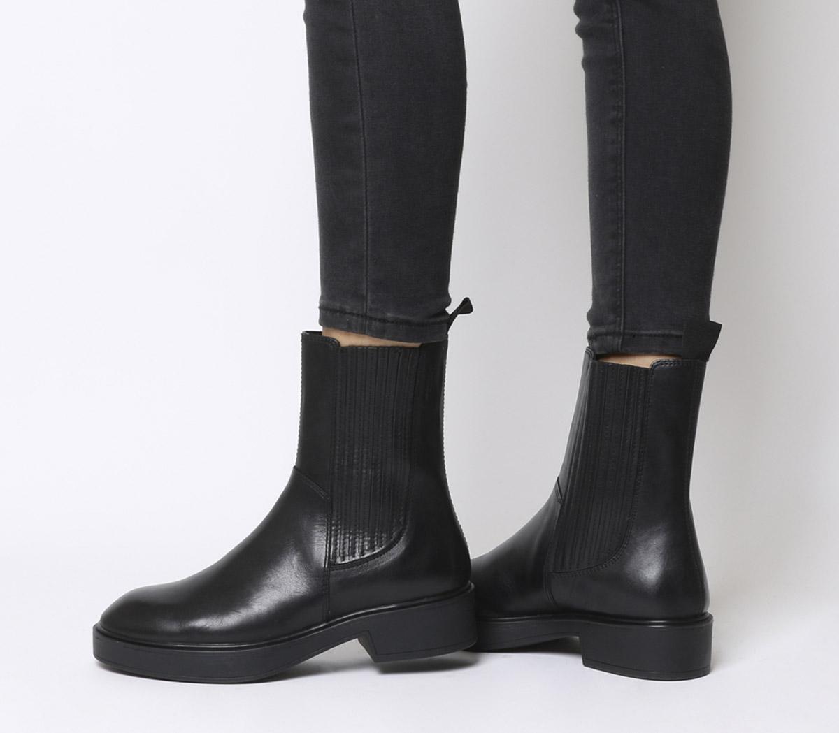 Vagabond Diane High Chelsea Boots Black
