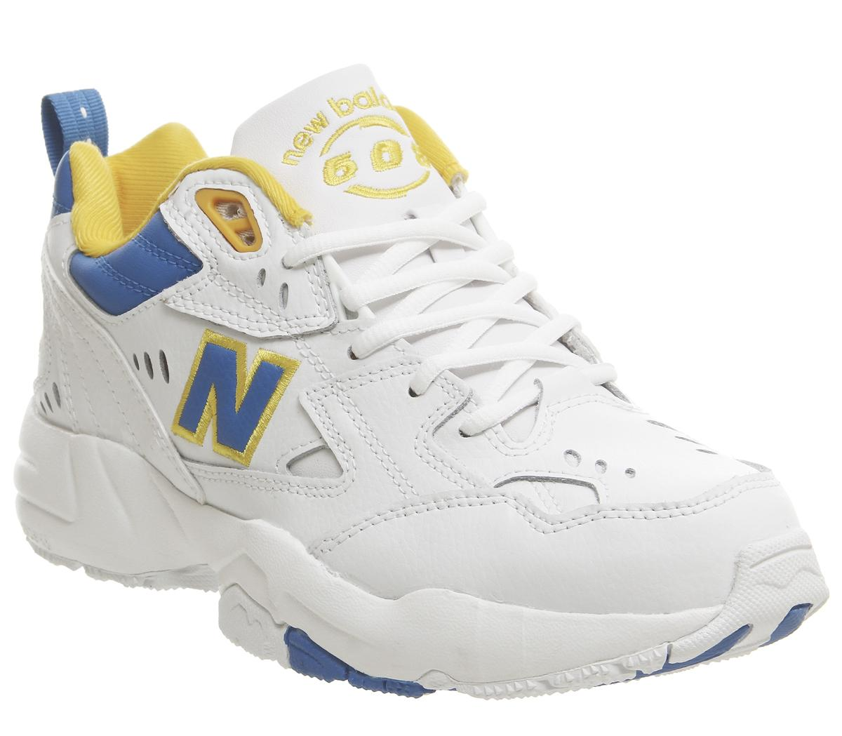 new balance blue and white