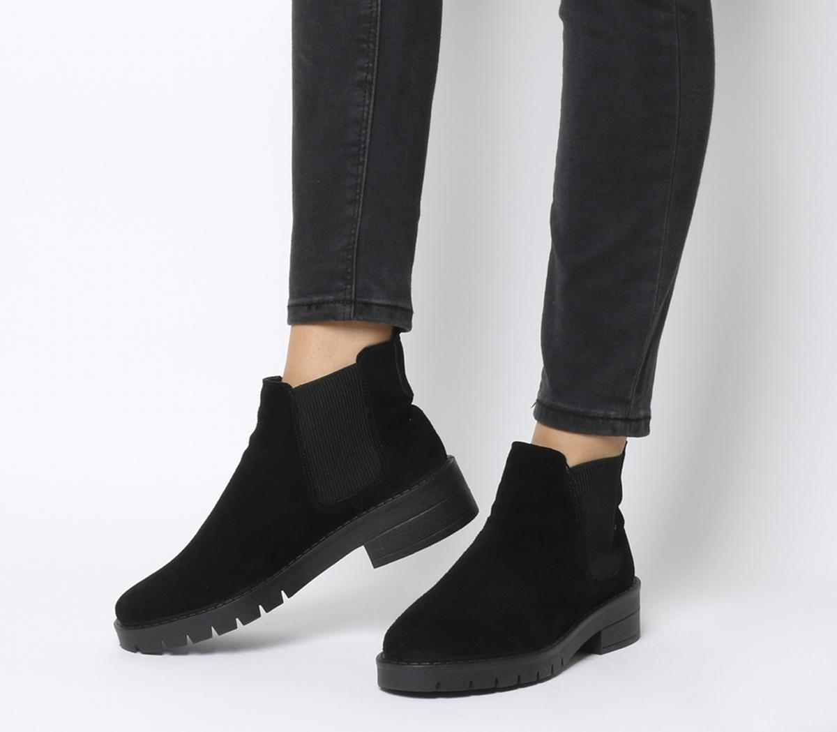 Office Aimee Cleated Chelsea Boots