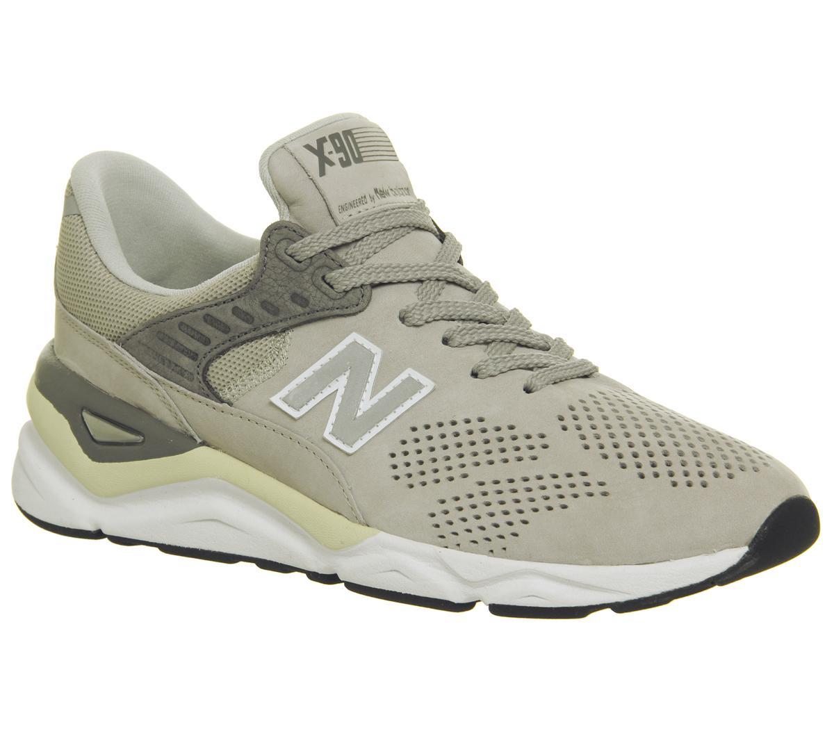 New Balance Msx90 Trainers Beige Grey