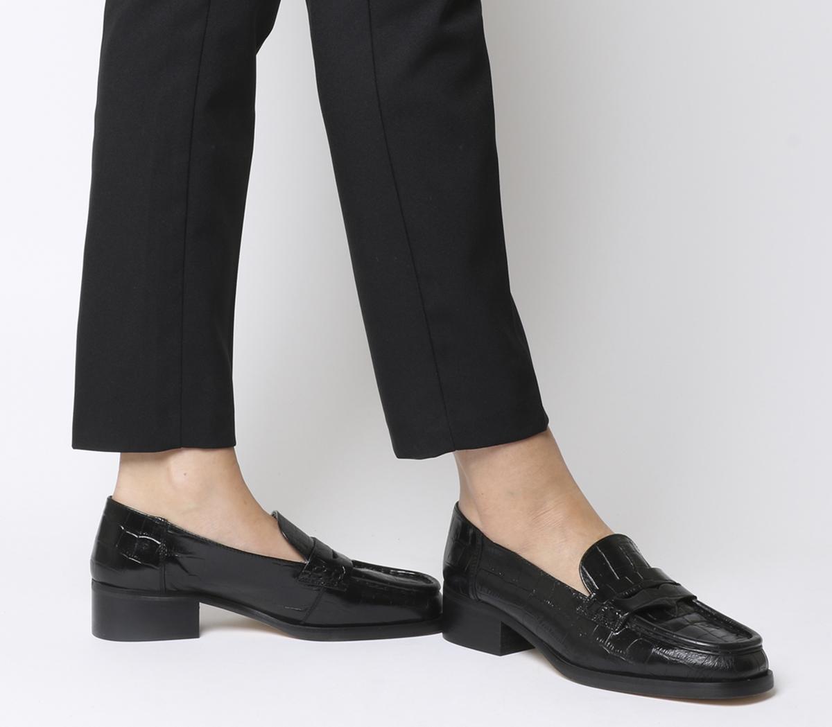 Fashion Show Square Toe Loafers