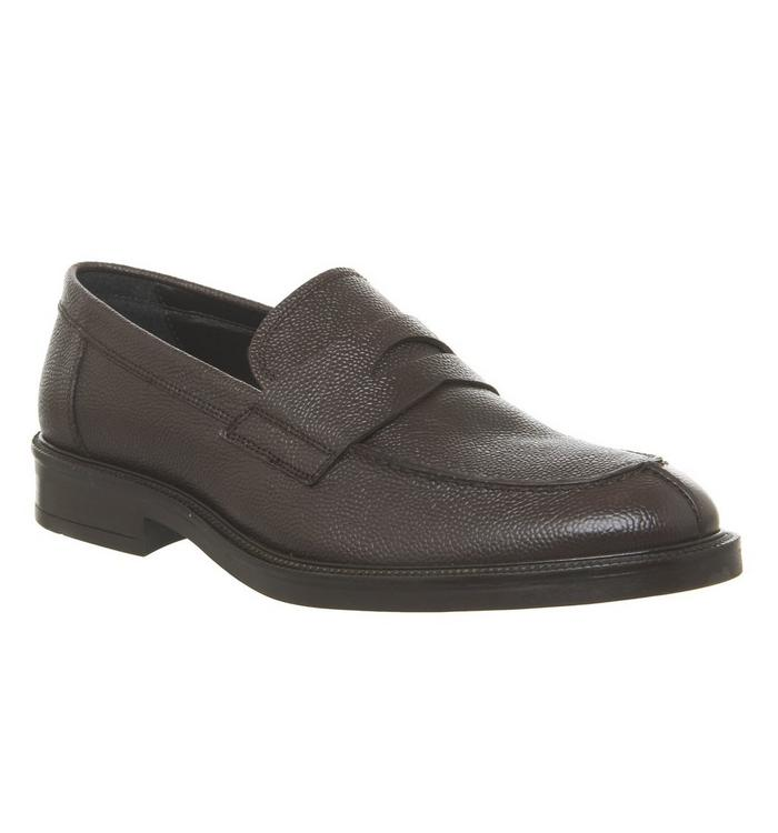 Ask the Missus Ask the Missus Impress Loafer CHOC PEBBLE LEATHER