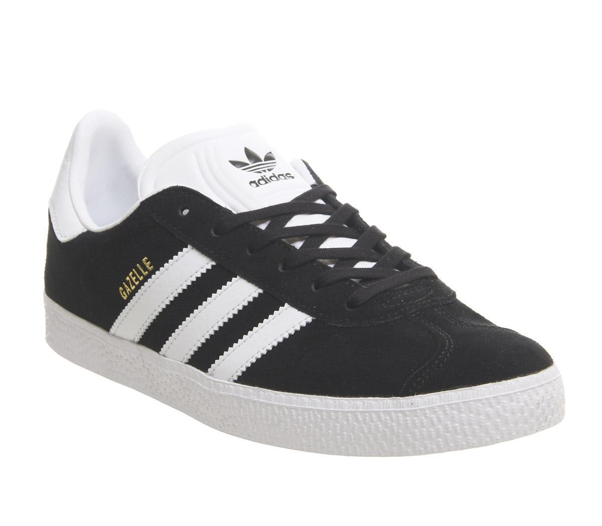 adidas Gazelle Jnr Trainers Core Black
