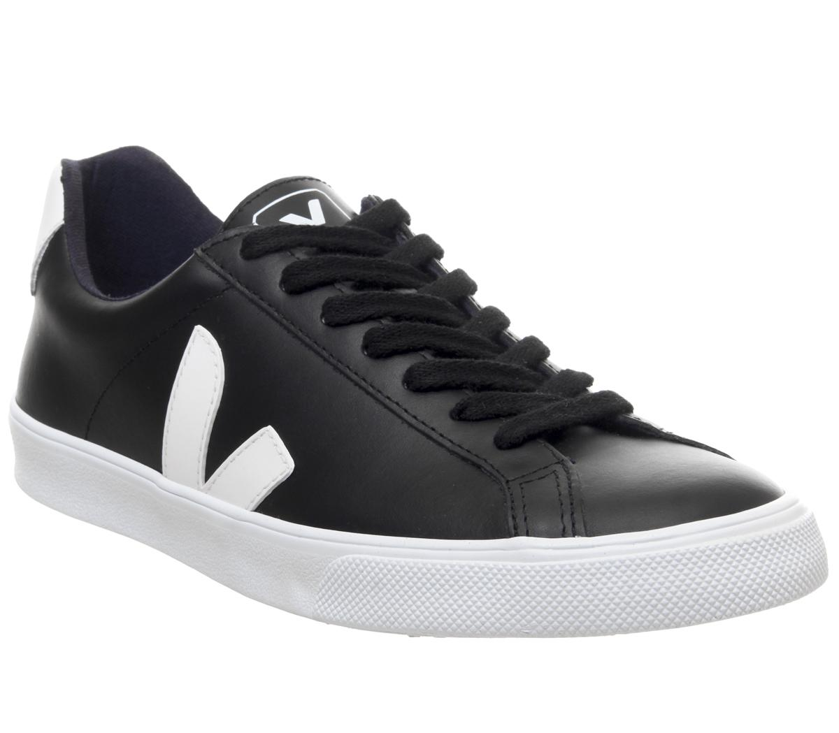 legal cuenca Resplandor  Veja Esplar Black White F - Unisex Sports