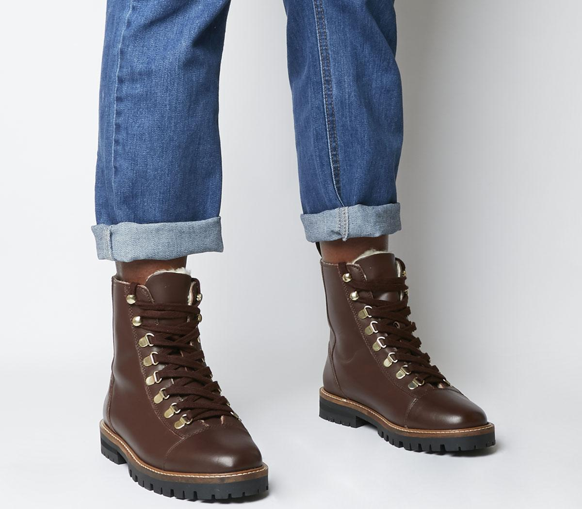 Ansel- Hiker Lace Up Boots