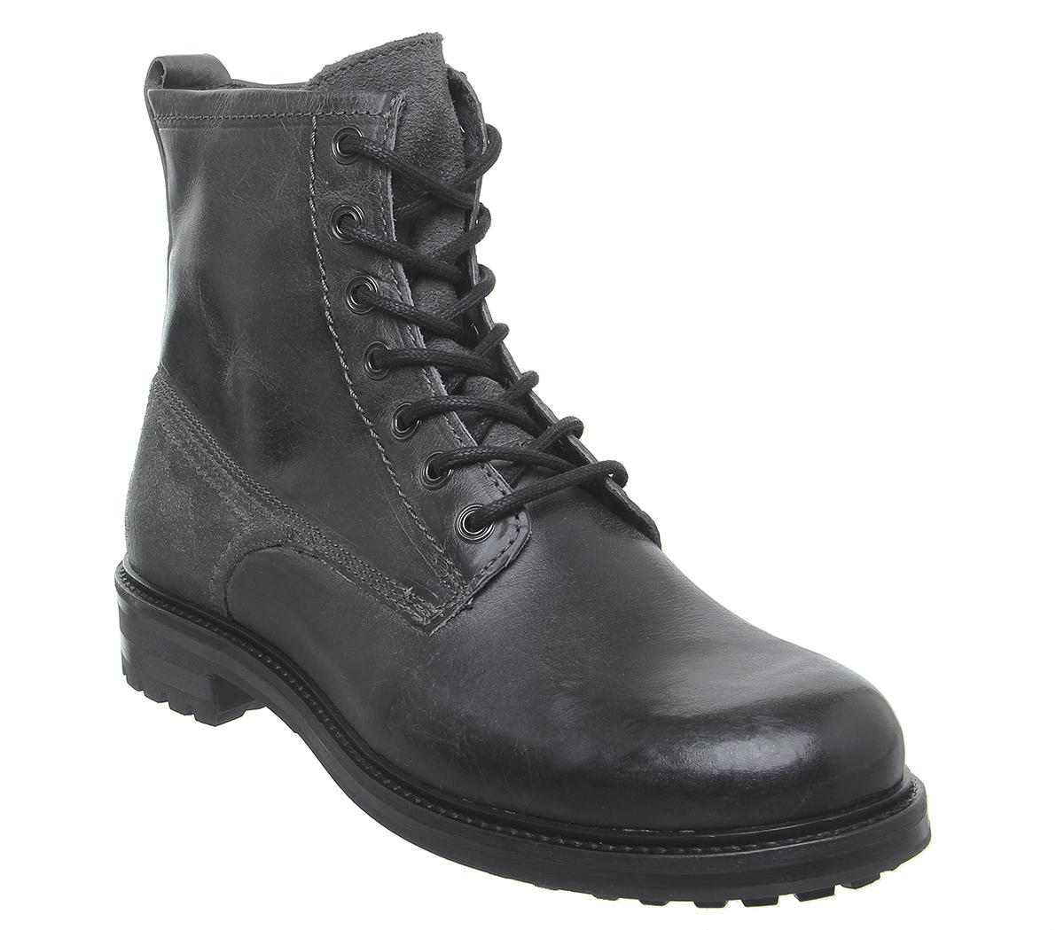 Injunction Lace Boots