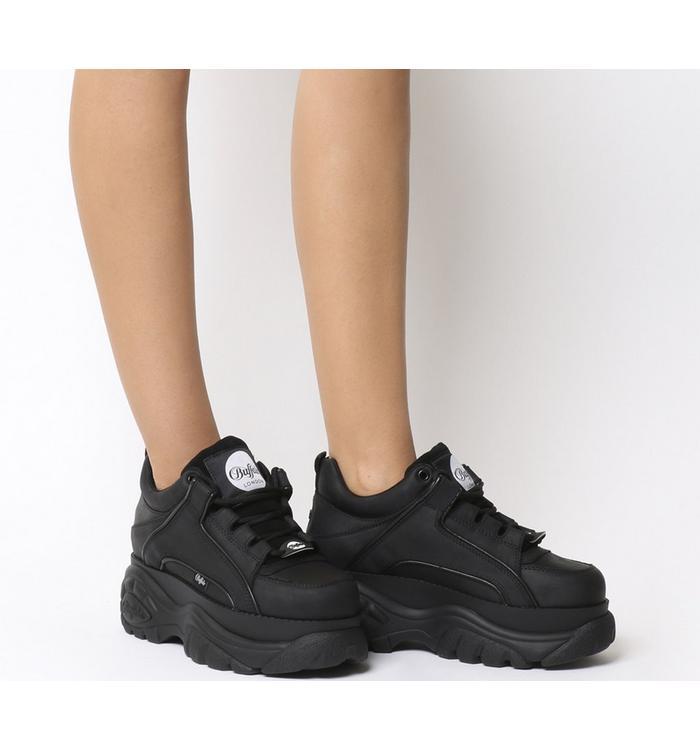 Buffalo Buffalo Classic Low Sneakers BLACK