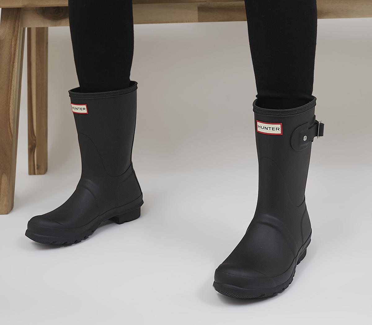 Hunter Womens Original Short Black