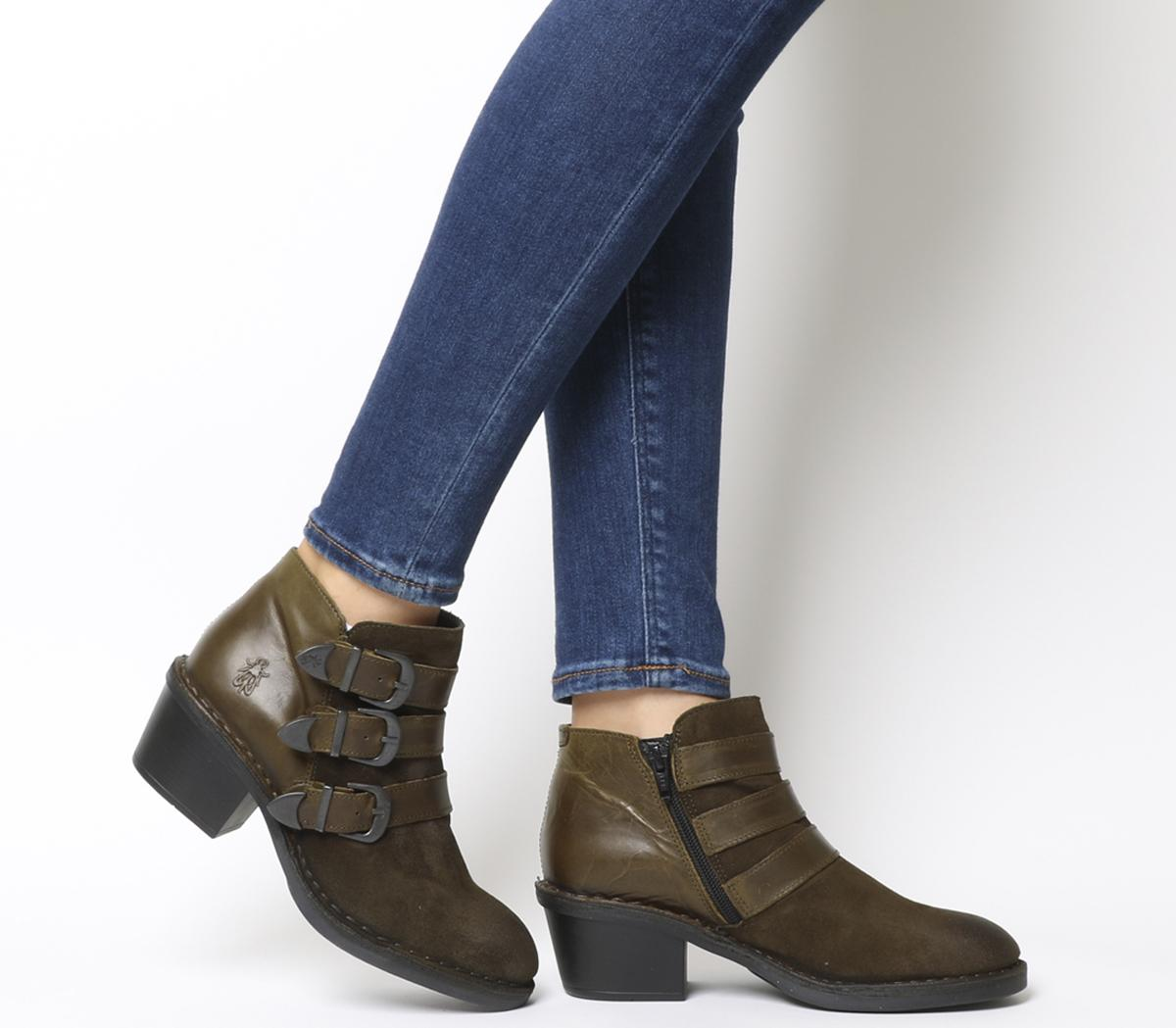 Dalo Buckle Boots