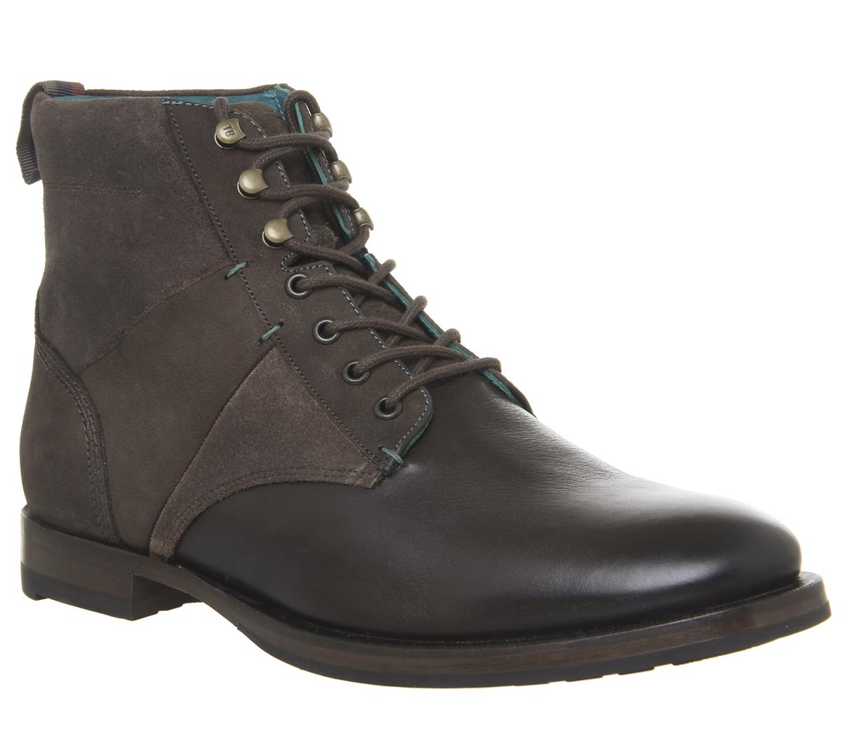 Reubal Lace Up Boots