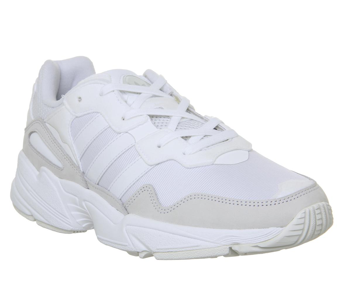 adidas Yung 96 Trainers White Grey