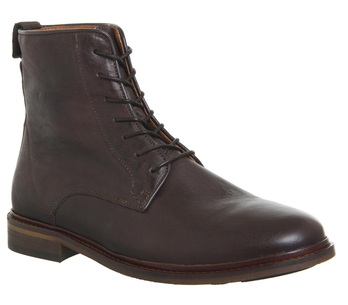 Ned Lace Up Boots