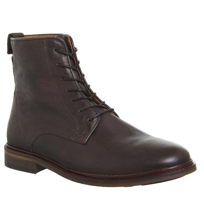 Shoe the Bear Shoe the Bear Ned Lace Up Boot BROWN LEATHER