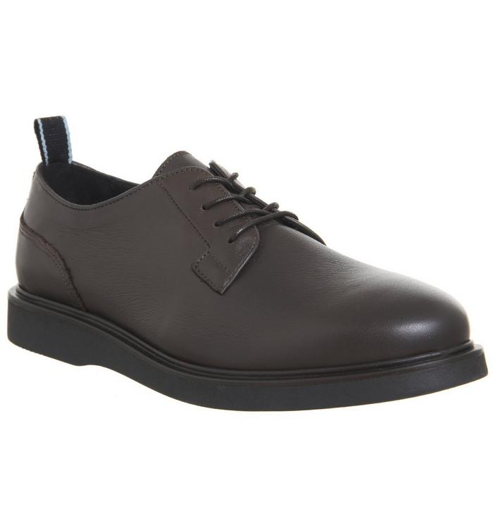 Shoe the Bear Shoe the Bear Horace Lace Shoe BROWN LEATHER