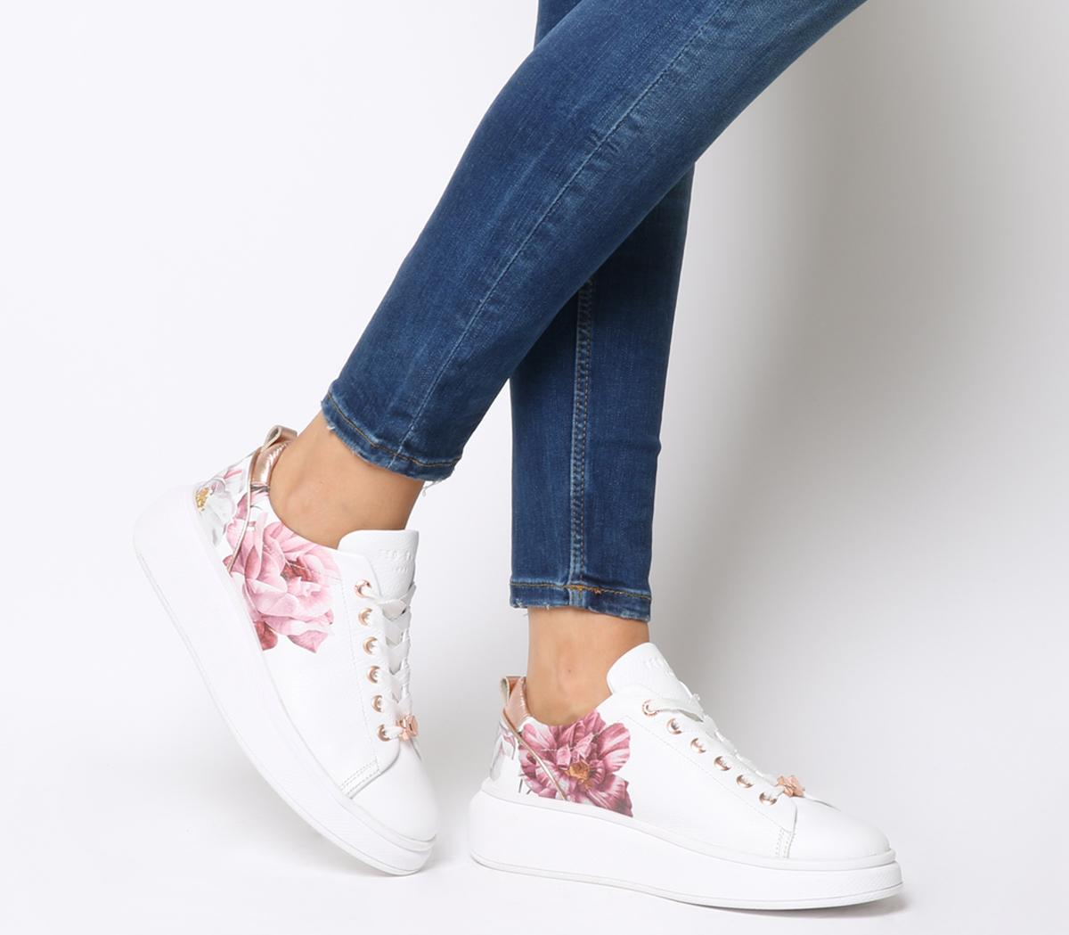 Ted Baker Ailbe 2 Sneakers White Iguazu