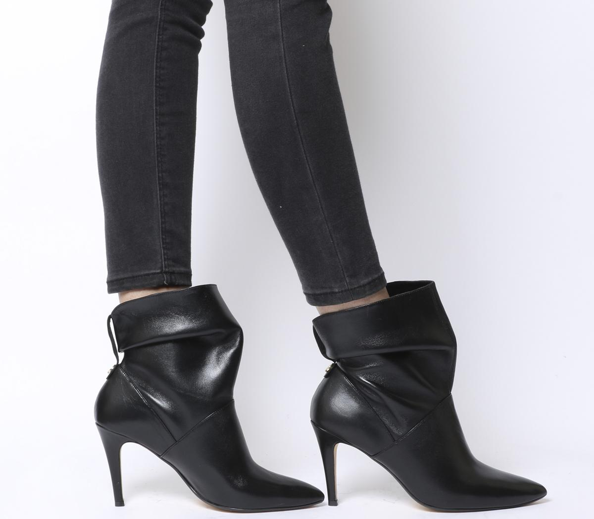 Office Aura Dressy Ruched Mid Heel