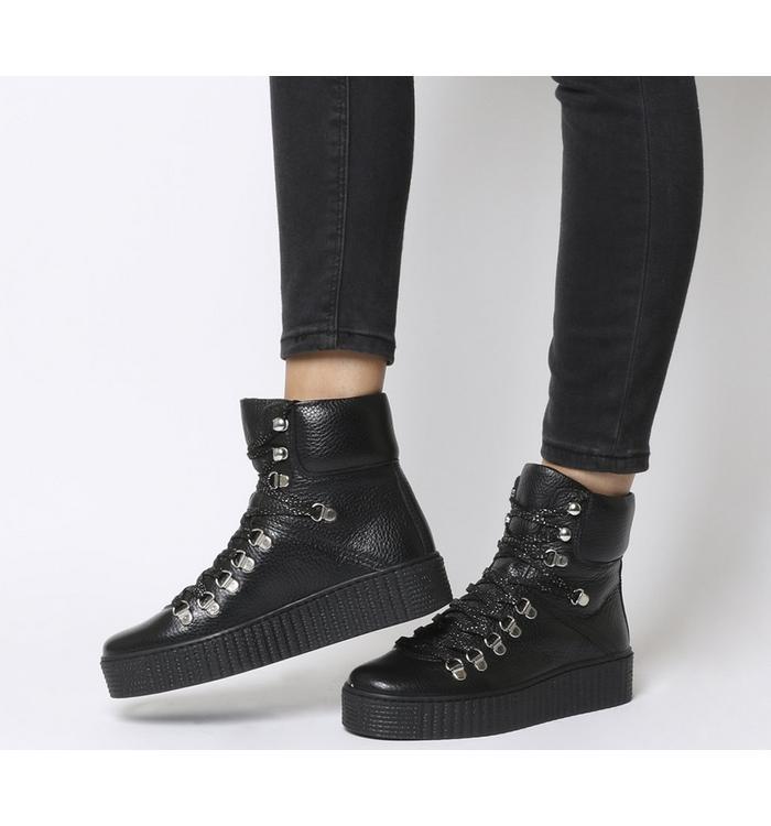 Shoe the Bear Shoe the Bear Agda Boot BLACK LEATHER