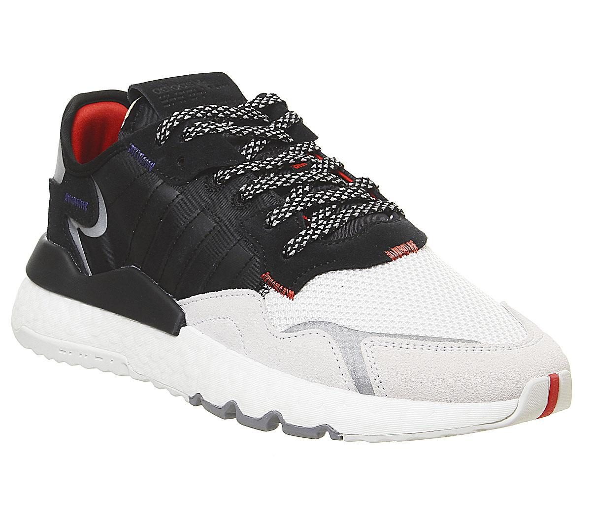 adidas Nite Jogger Boost Trainers Black