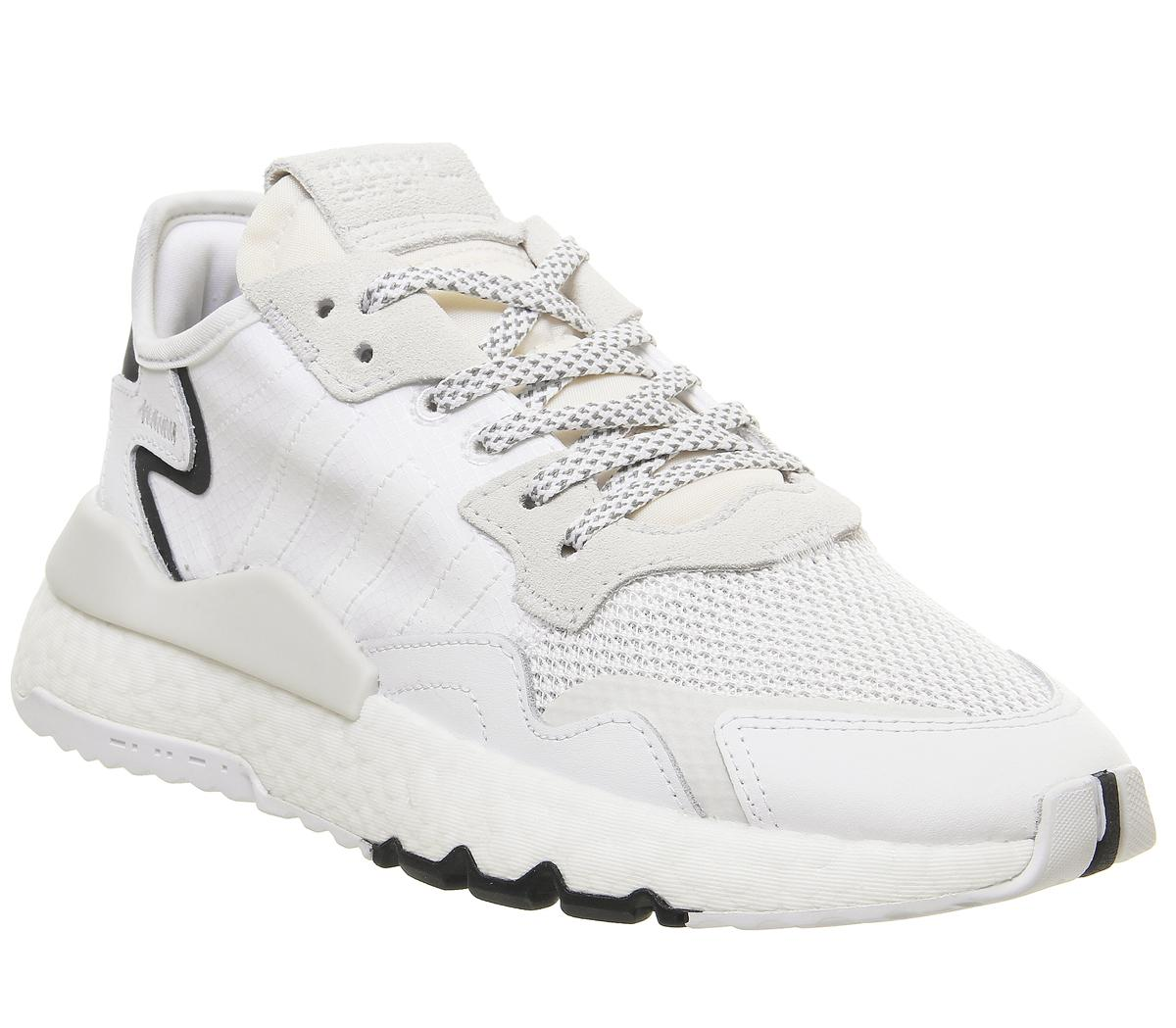 adidas Nite Jogger Boost Trainers Ftwr