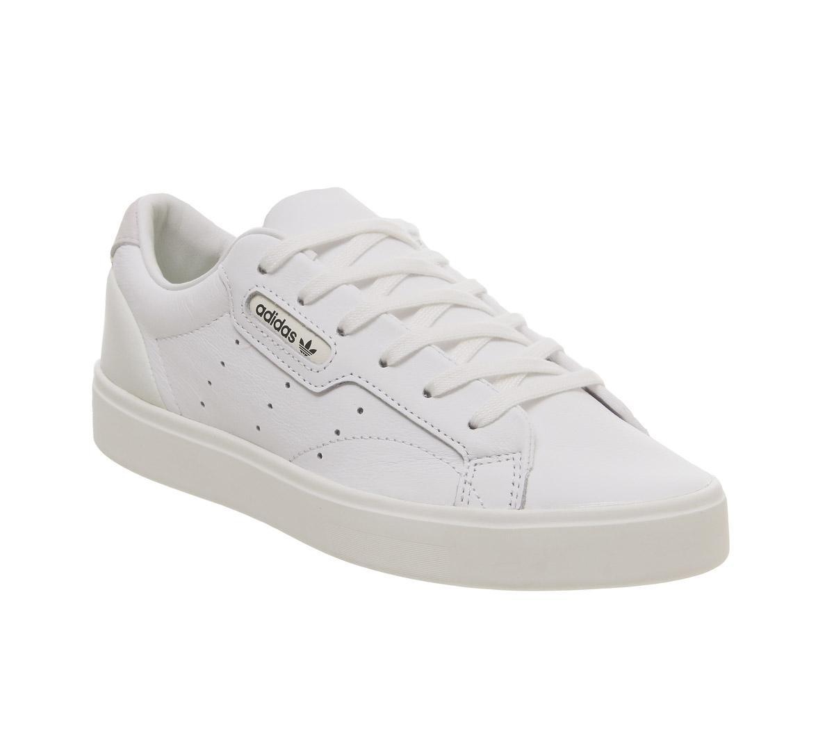 adidas Sleek Trainers White Off White