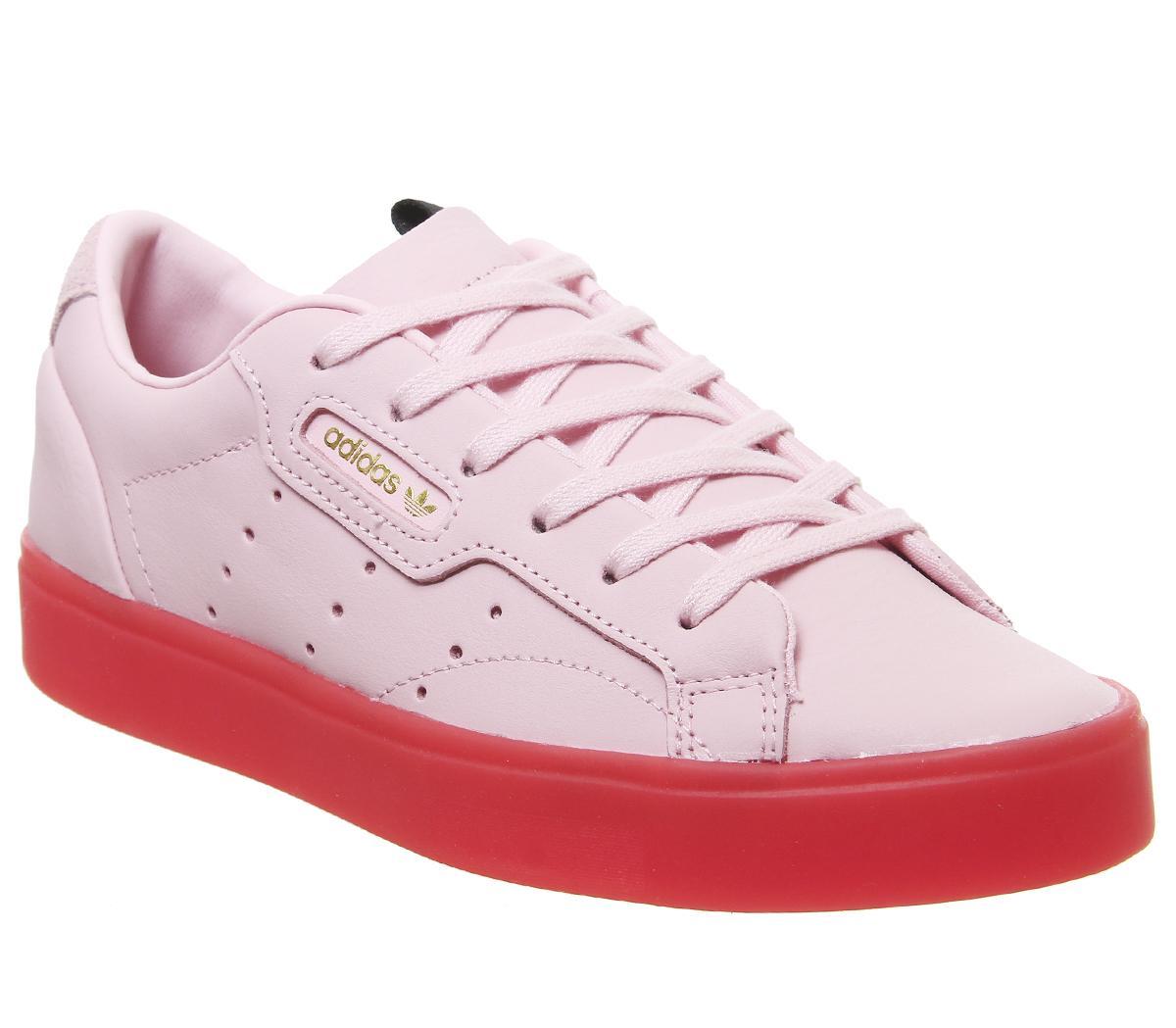 adidas Sleek Trainers Diva Red - Hers