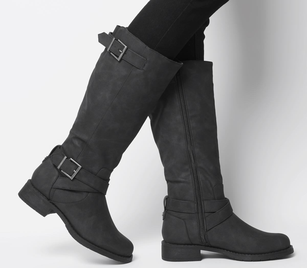 Kamel Biker Knee Boots