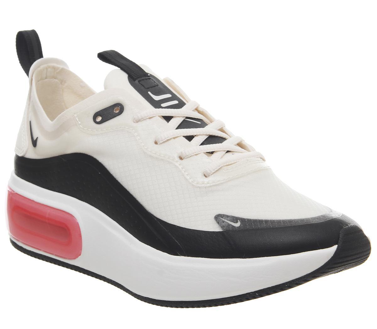 lindo baratas brillante en brillo vendido en todo el mundo Nike Air Max Dia Trainers Pale Ivory Summit White Bright Crimson ...