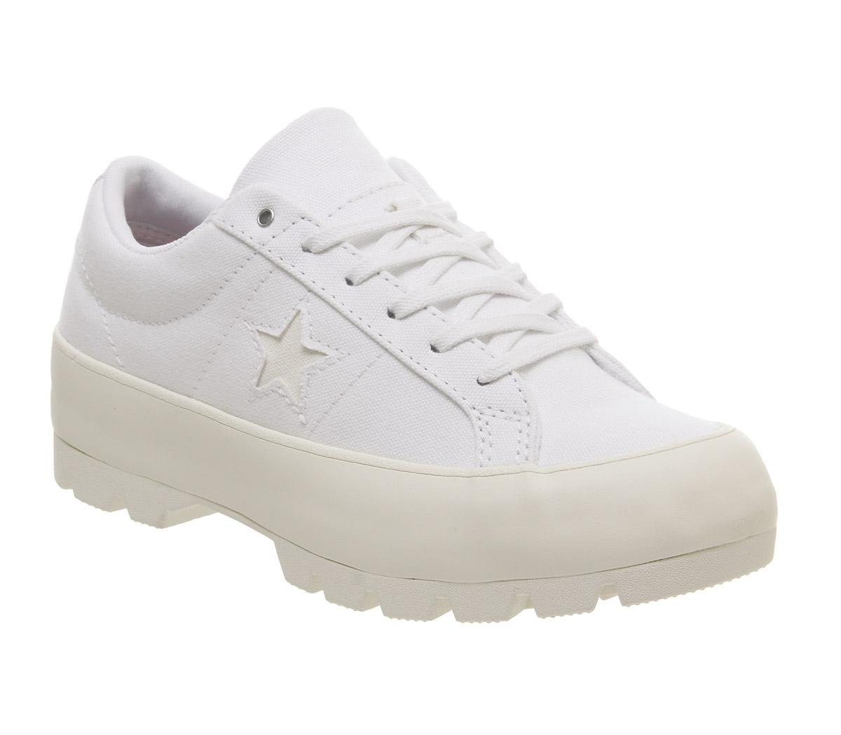 Converse One Star Lugged Ox Trainers