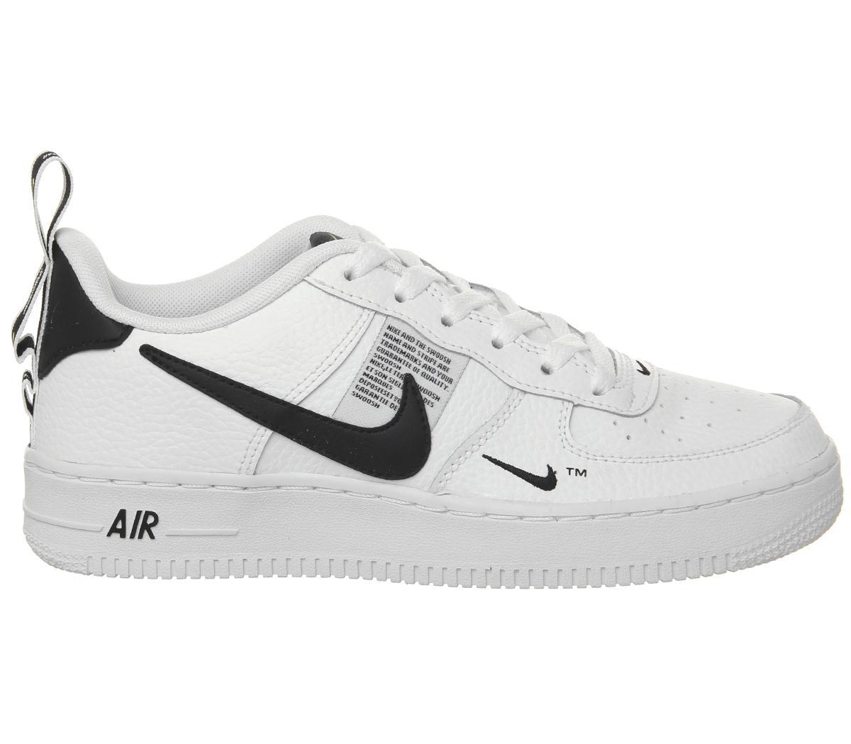 Wmns Air Force 1 07 White Black - Nike - 315115 152   GOAT