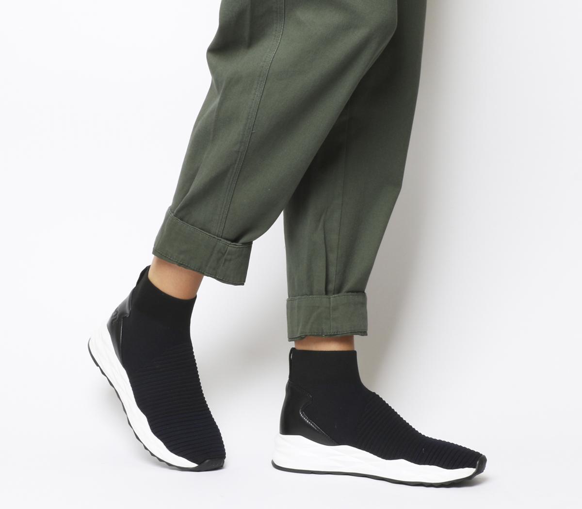 Ash Spot Sneakers Midnight Black - Hers