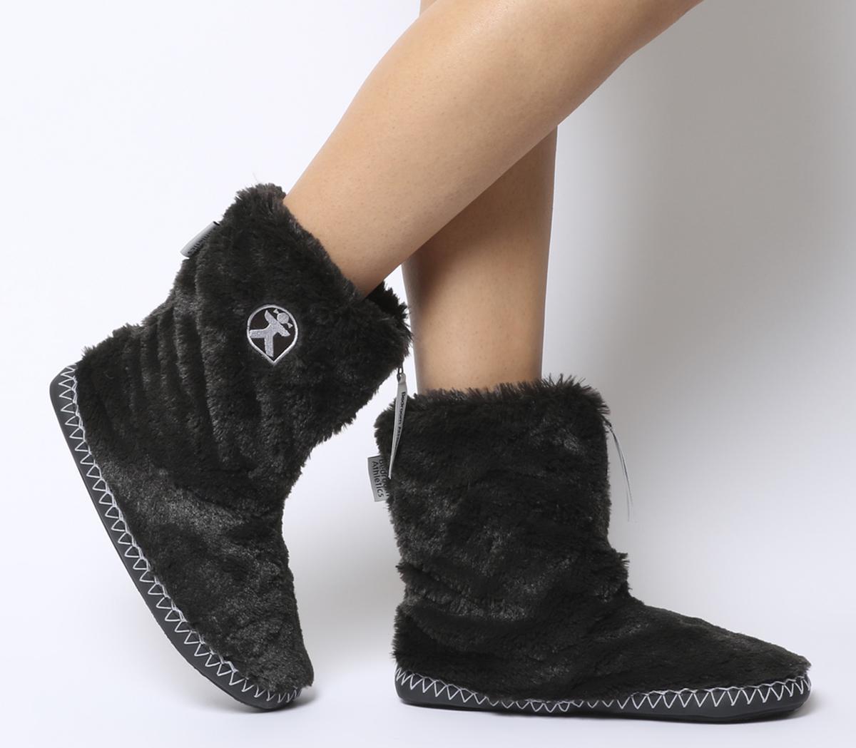 Marilyn Short Faux Fur Boots