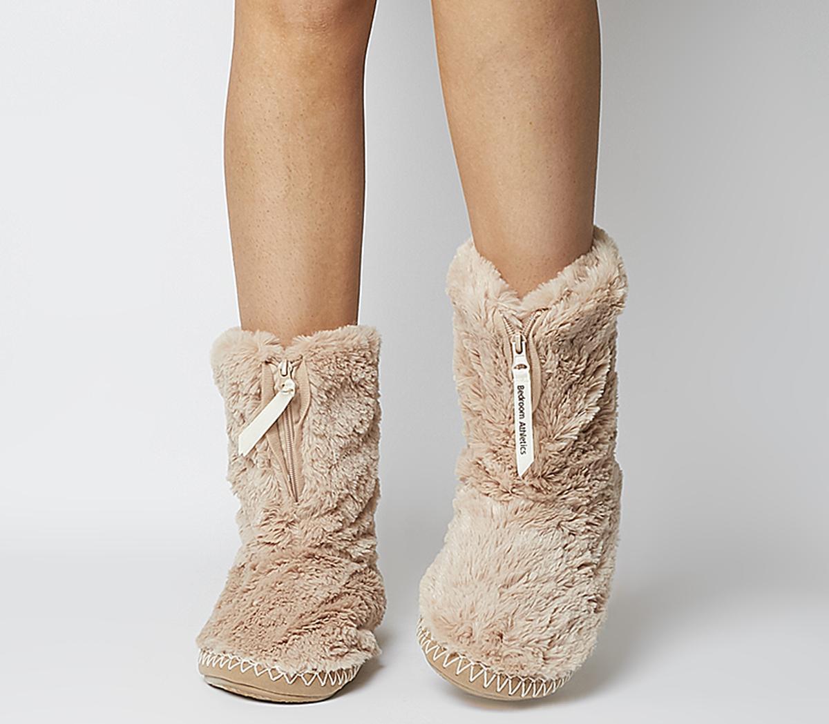 Marilyn Short Faux Fur Boot