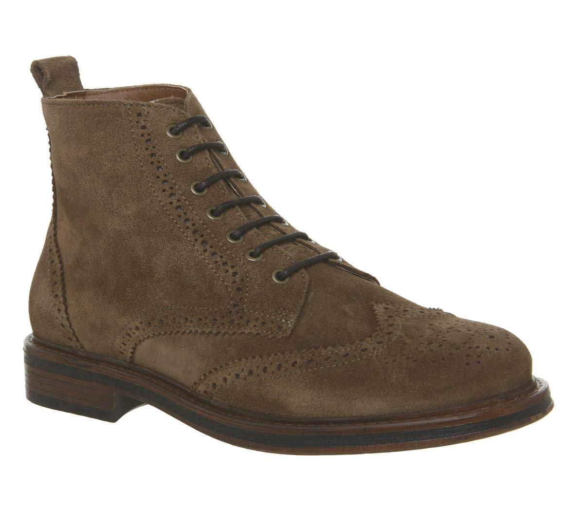 Interpreter Brogue Boots