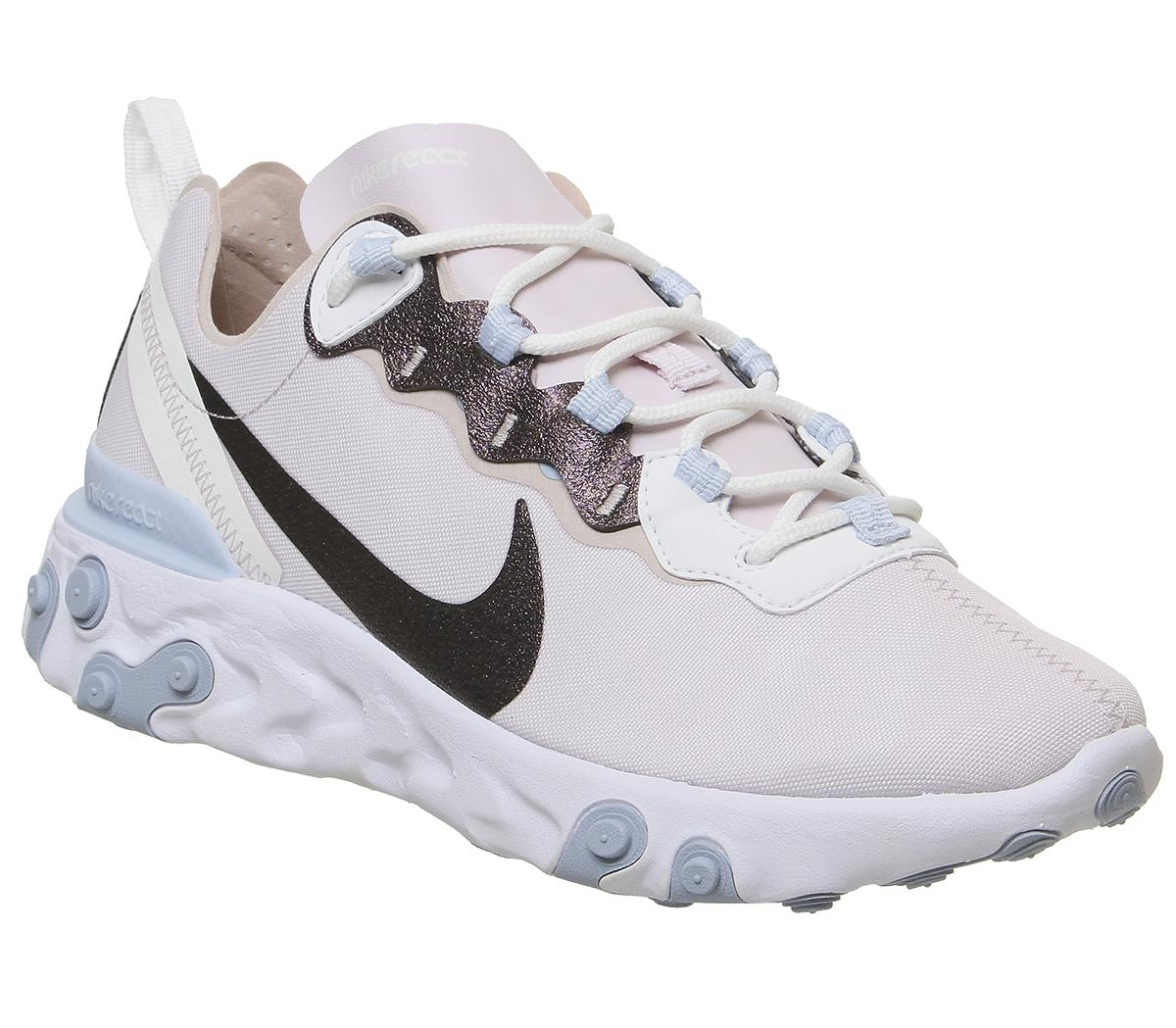 Nike React Element 55 Trainers Rose