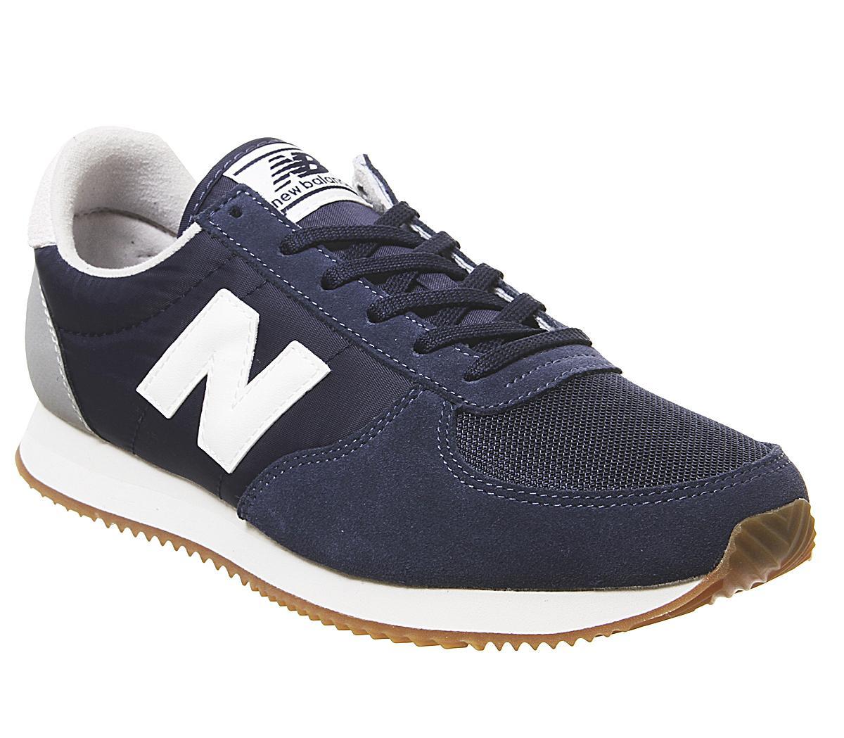 New Balance U220 Trainers Pigment White