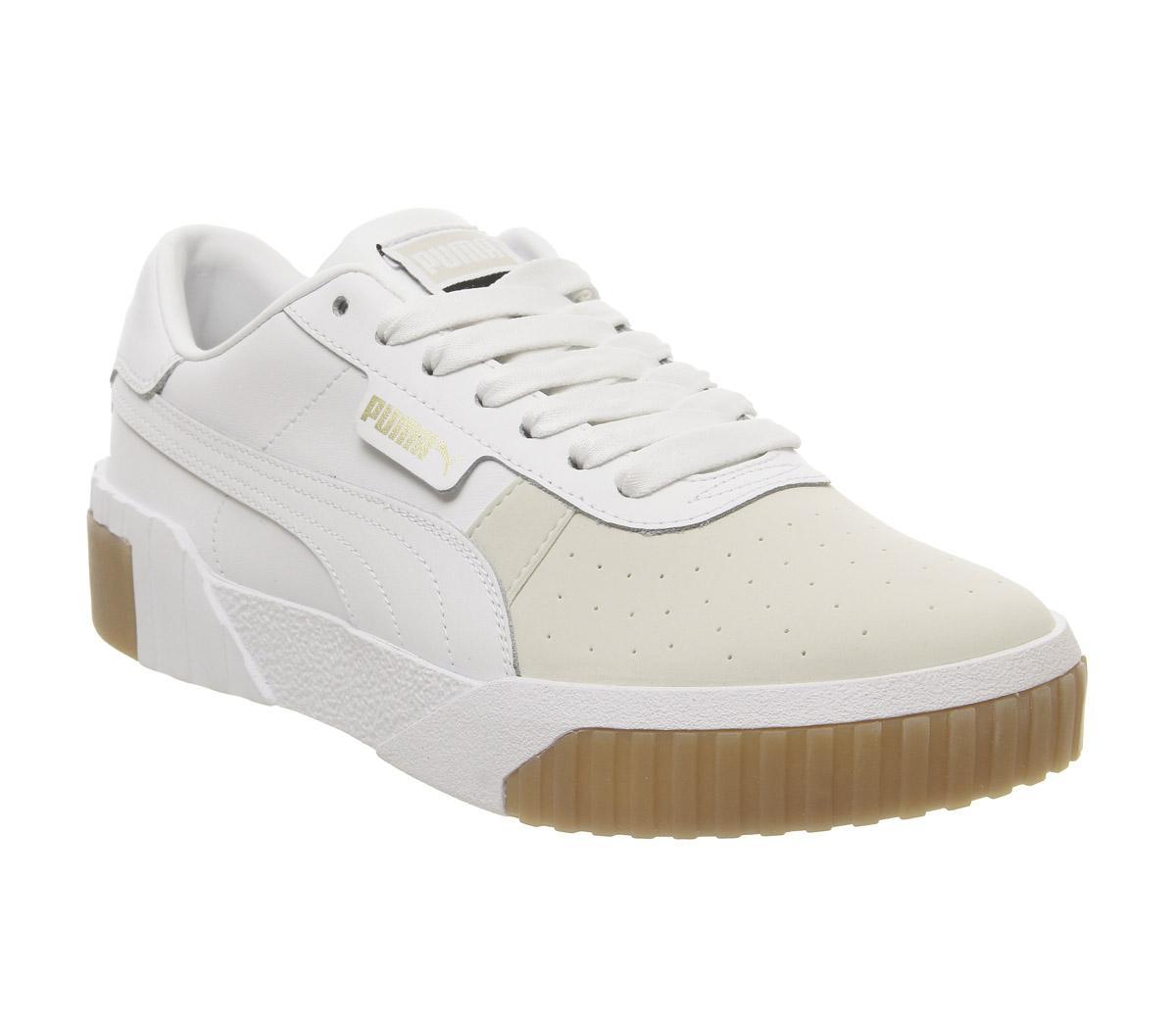 Puma Cali Trainers Puma White Gum White