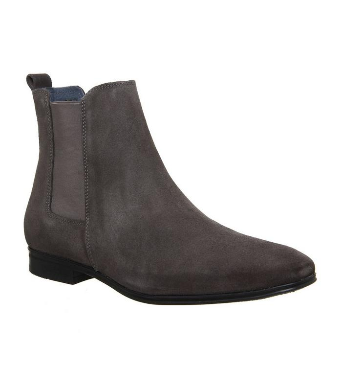 Ask the Missus Ask the Missus Iago Boot GREY SUEDE
