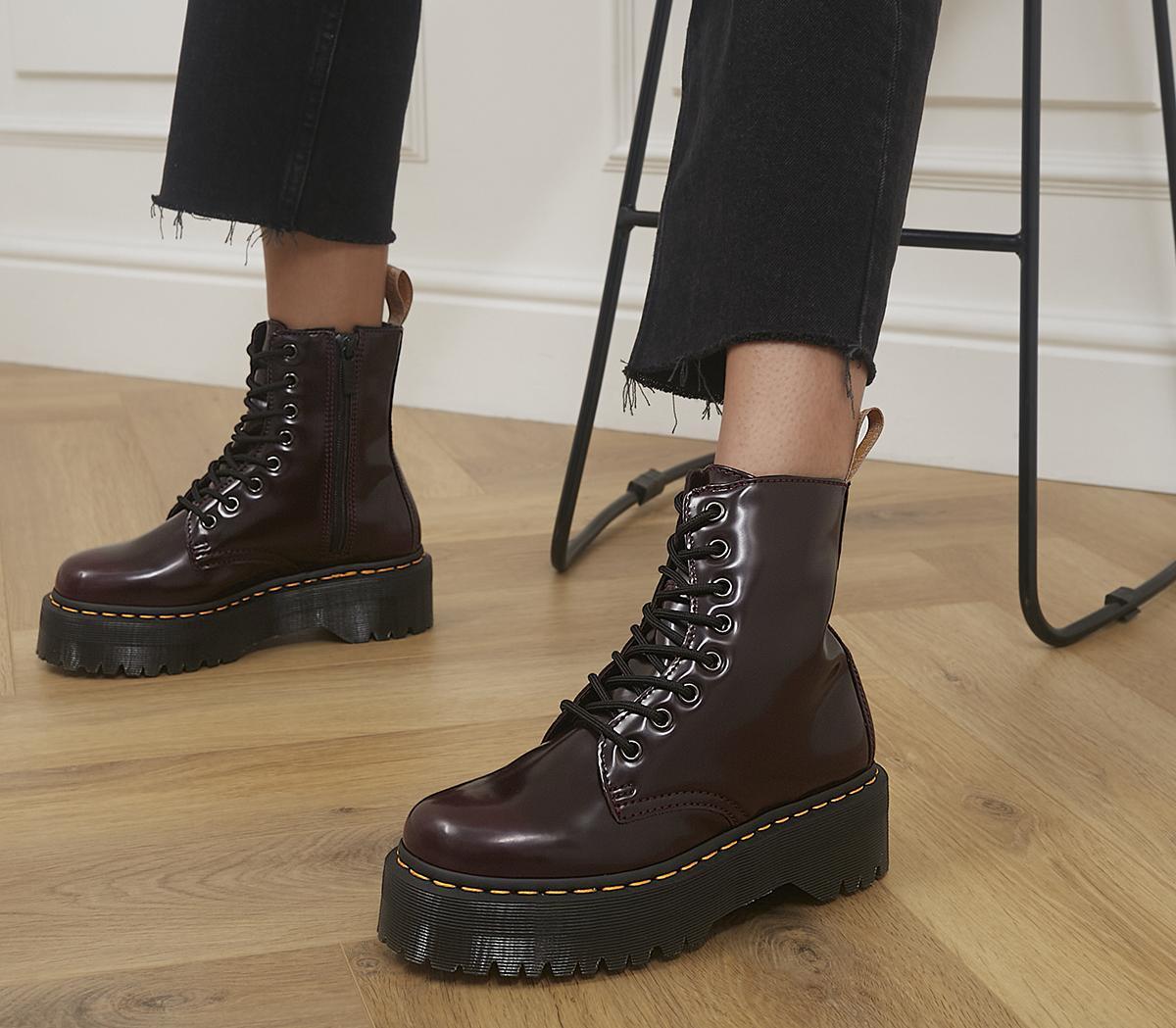 V Jadon 8 Eye Boots