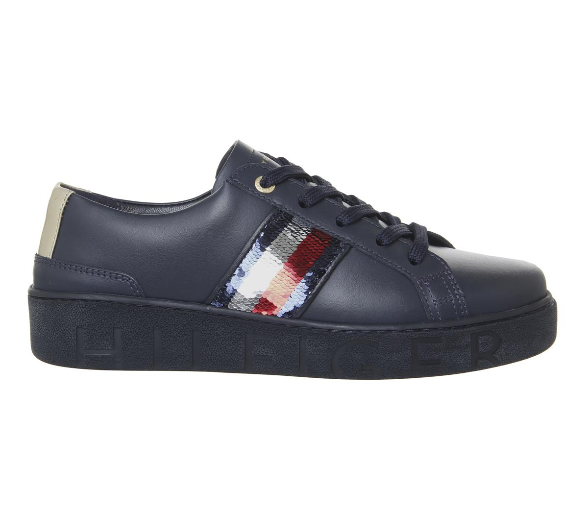 Tommy Hilfiger Sequins Fashion Sneakers