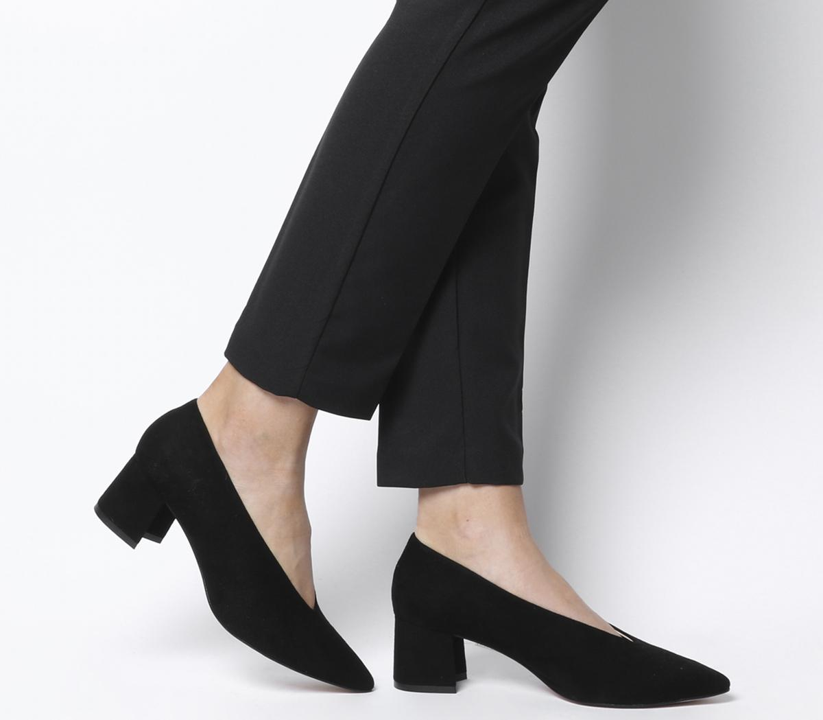 Office Monarchy Feature Heel Courts