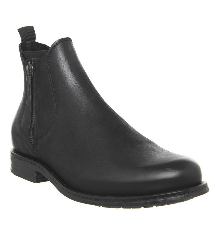 Ask the Missus Ask the Missus Image Zip Boot BLACK LEATHER