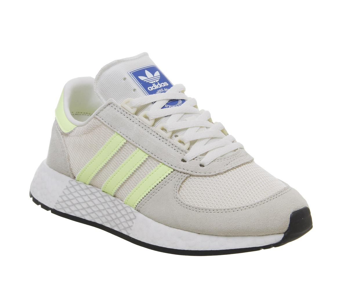 Caprichoso Kent reemplazar  adidas Marathon Tech Trainers Clear Brown Hires Yellow Ecru Tint - Unisex  Sports