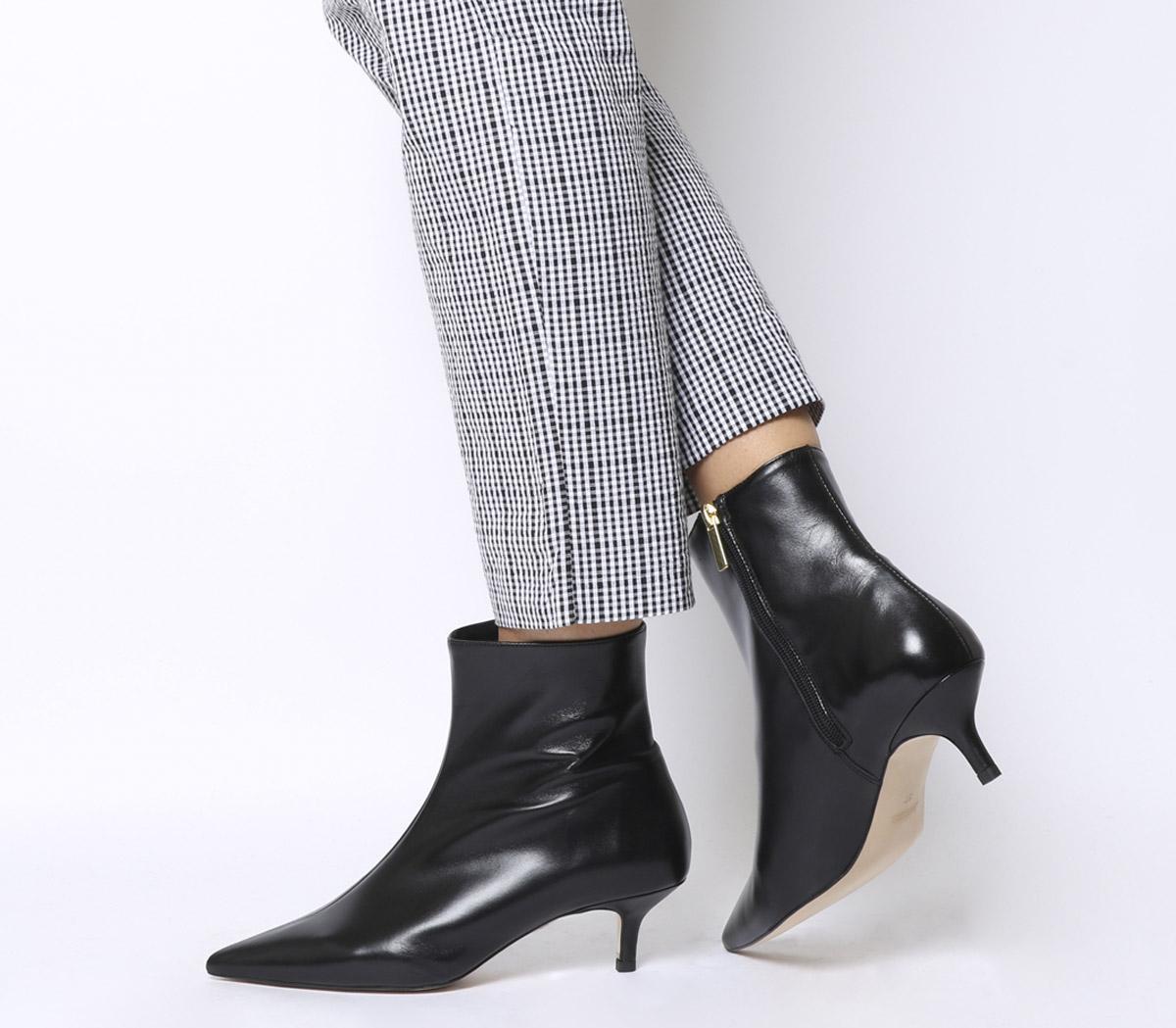 Office Anastasia- Kitten Heel Boot