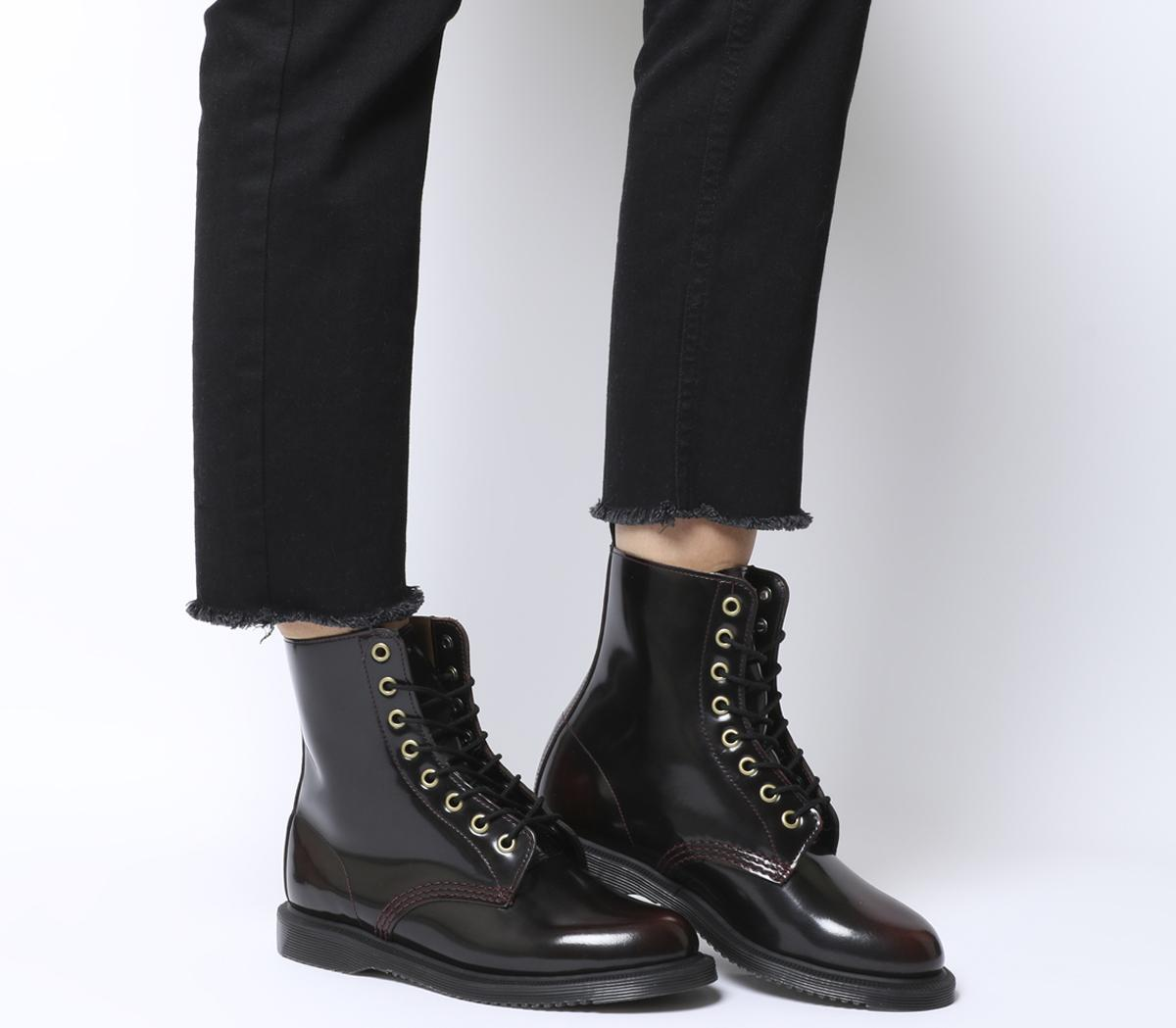 Doc Dr. Martens Air Wair Size 538, Knee High, Laced Limited Edition Vintage Boots, fab!