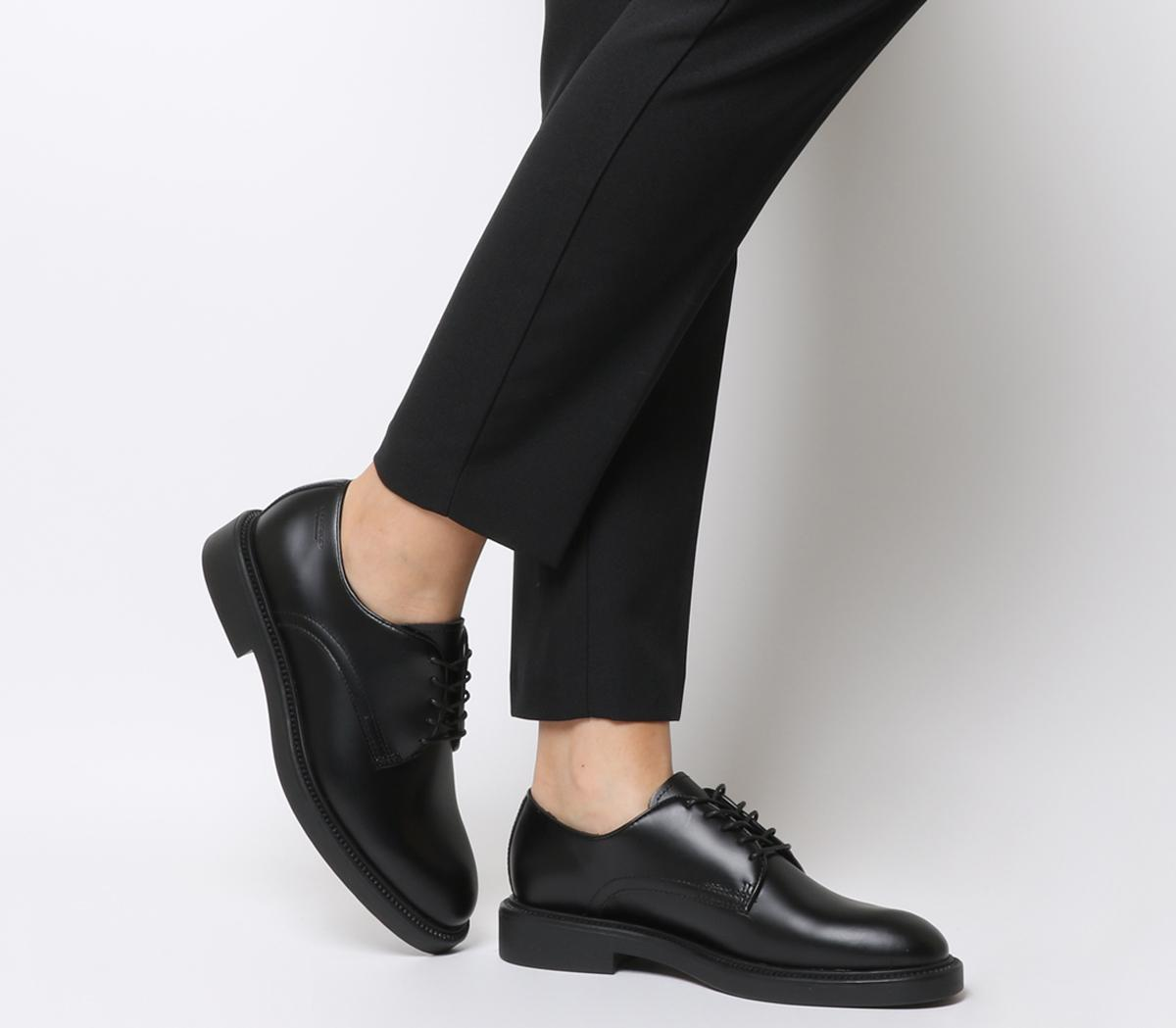 Vagabond Alex W Shoe Black Leather - Flats
